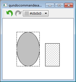 QUndoCommand example after color change
